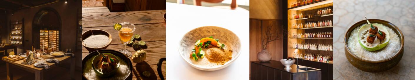 Food at Restaurant Klein Jan