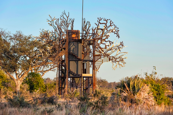 Baobab Treehouse in Okavango Delta