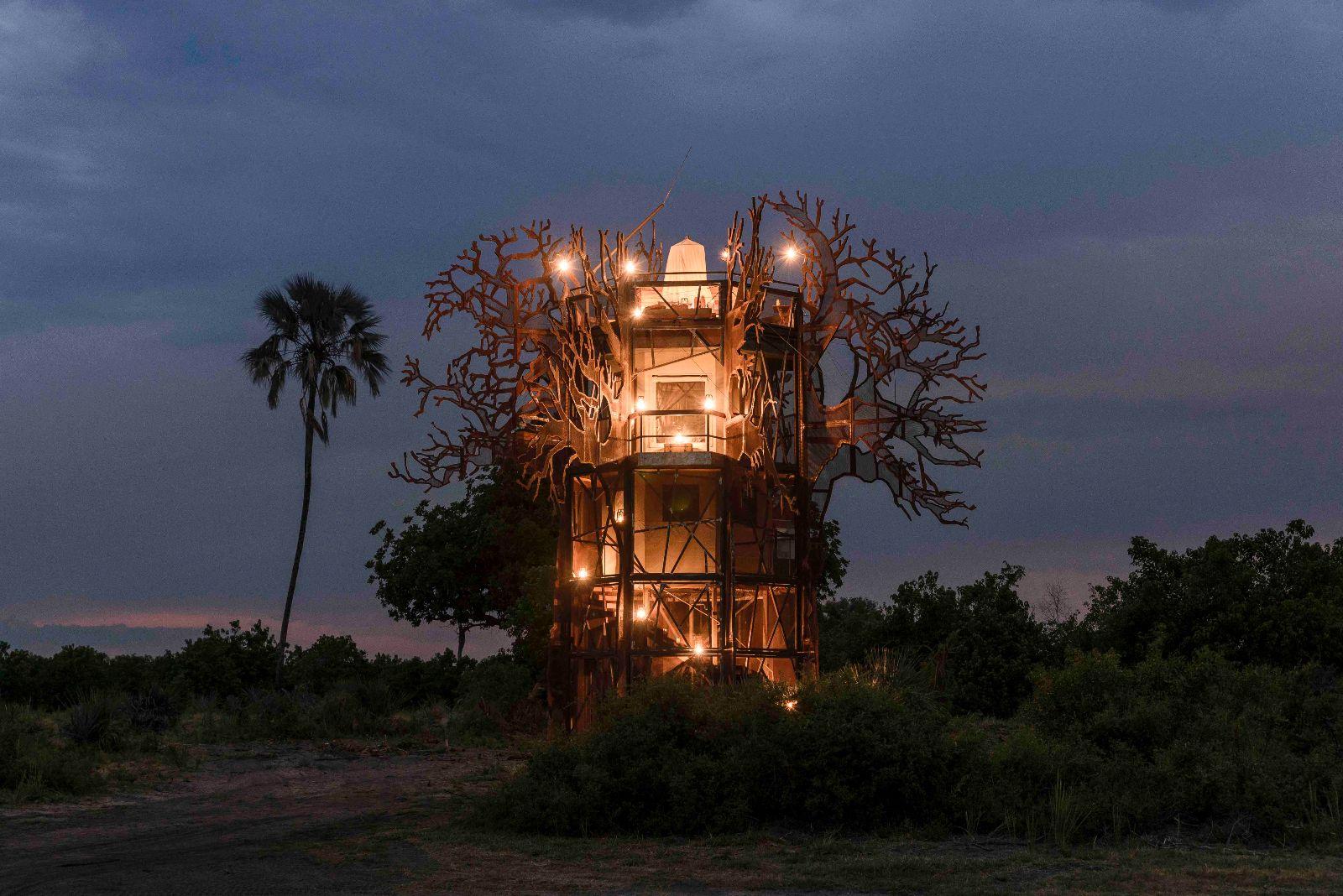 Xigera Safari Lodge's Baobab Treehouse