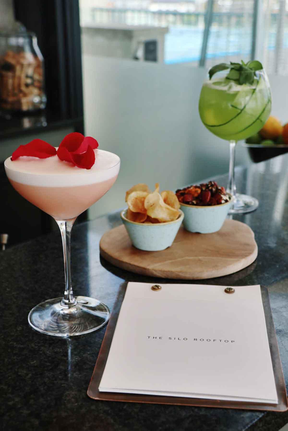 Silo Hotel Signature Cocktail